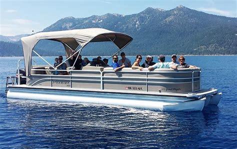 pontoon boat rental lake tahoe 24 27 pontoon boat rentals swa watersports lake