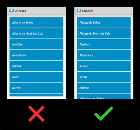 gridview themes exles make action bar overlay work with listview or gridview