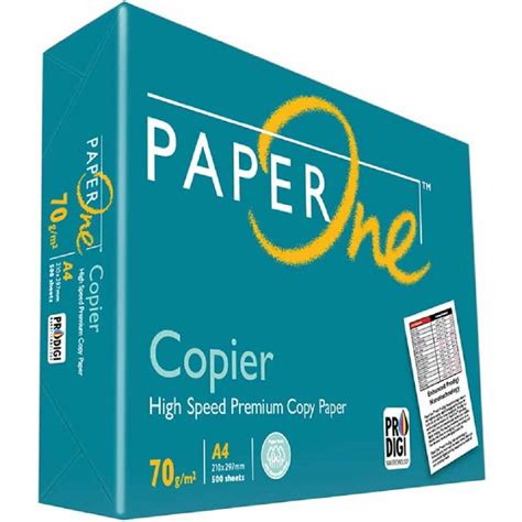 Paper One A4 80gr paperone copier paper 70gsm a4