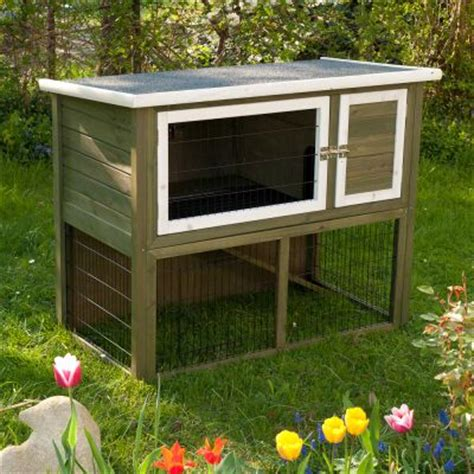 Best Price Rabbit Hutches Outback Hutches Outback Hutch Compact Green With Run