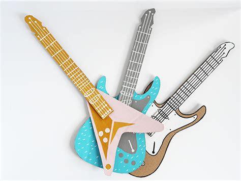 How To Make A Handmade Guitar - how to make a guitar for your rockstar handmade