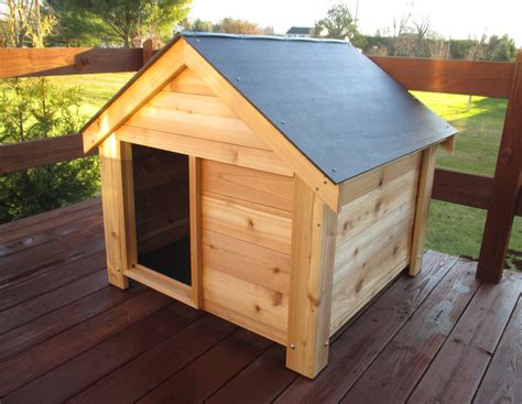 cedar dog houses the ultimate dog house