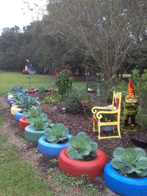 Tire Garden Ideas Best 25 Tire Garden Ideas On Tire Planters Tire Planters And Garden Ideas With