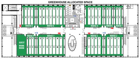 green plans unc biology greenhouse space request