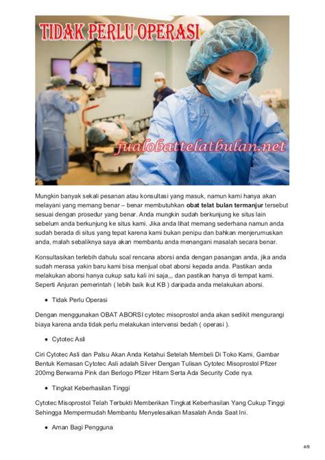 Obat Cytotec Murah obat telat bulan cytotec asli obat aborsi penggugur