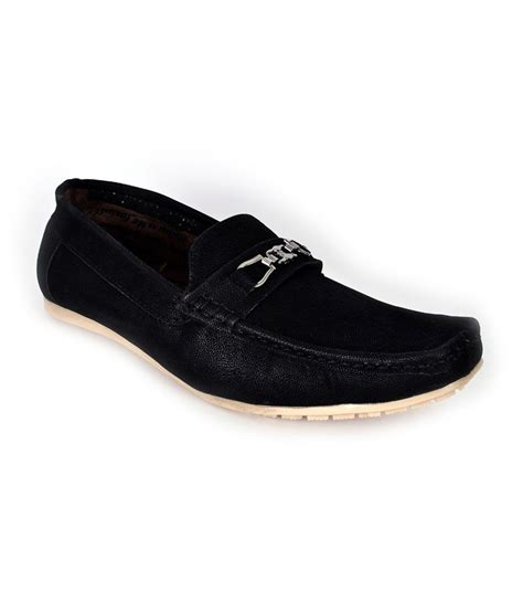 buy mens loafers india shoes n style black suede slip on loafers for price in