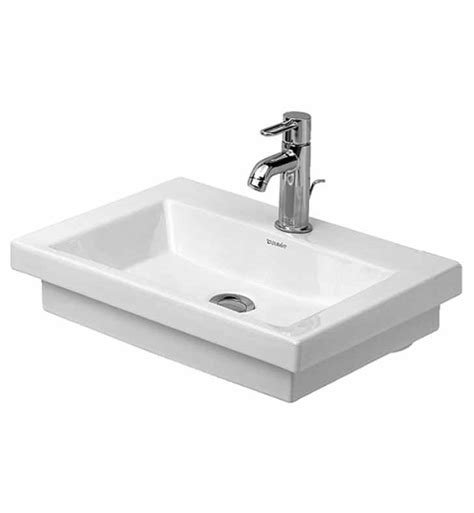 duravit bathroom sink duravit 07905000001 2nd floor wall mount porcelain