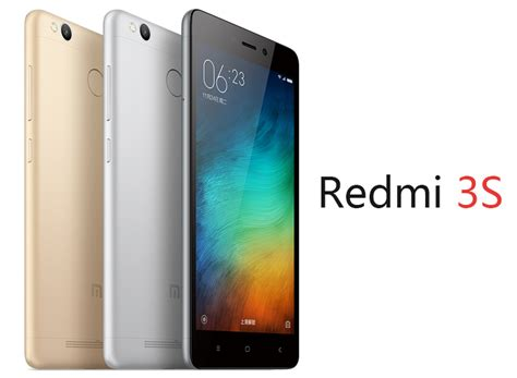 Redmi 3s Ram 3 32 xiaomi redmi 3s international version 3gb ram 32gb rom gray