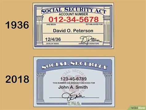 Social Security Card Images By Year