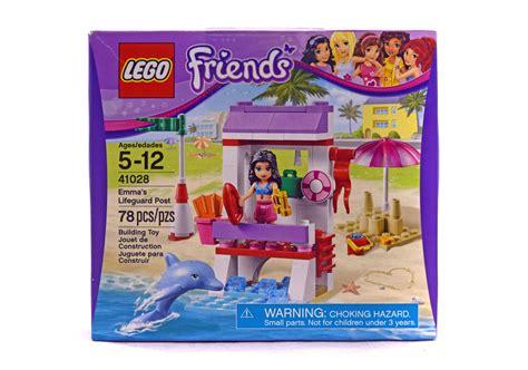 Lego 41028 Emmas Lifeguard Post s lifeguard post lego set 41028 1 nisb building