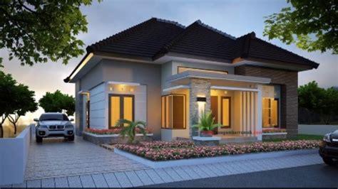 contoh model rumah minimalis terbaru   elegan  modern youtube