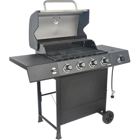 Gas Barbeque W Side Burner Pemanggang Barbeque Fh 12068 3 revoace 4 burner lp gas grill with side burner stainless steel outodoor cooking ebay