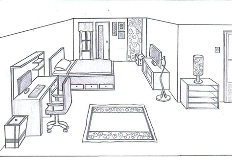 how to draw a 3d room interesting drawing a 3d room ideas plan 3d house