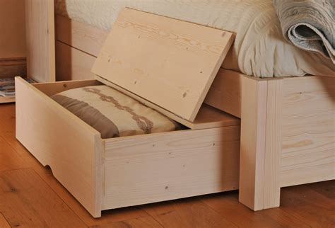 The Bed Storage On Wheels by Bed Storage Drawers With Wheels Feelgood Eco Beds
