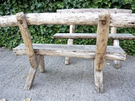 rustic wooden benches outdoor cabin porch rustic with wood patio furniture set