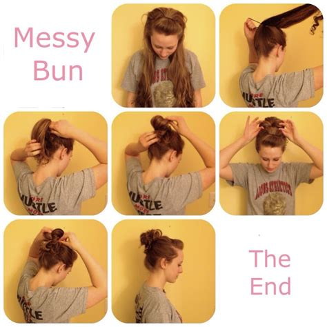 how do you do a messy bun daisies and things small messy bun tutorial