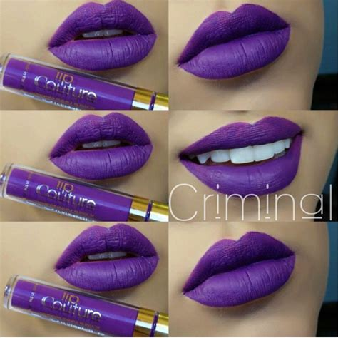 Alat Makeup Silky la splash lip couture in criminal the x and couture