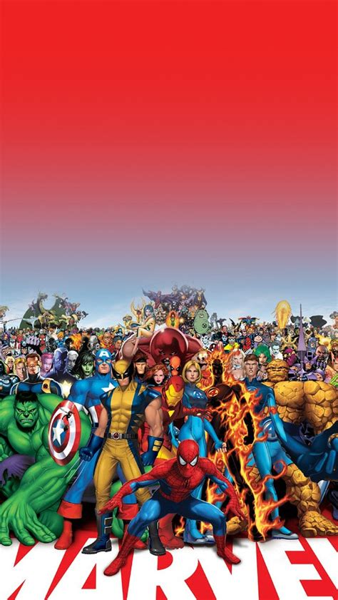 wallpaper hd iphone marvel freeios7 marvel family parallax hd iphone ipad wallpaper