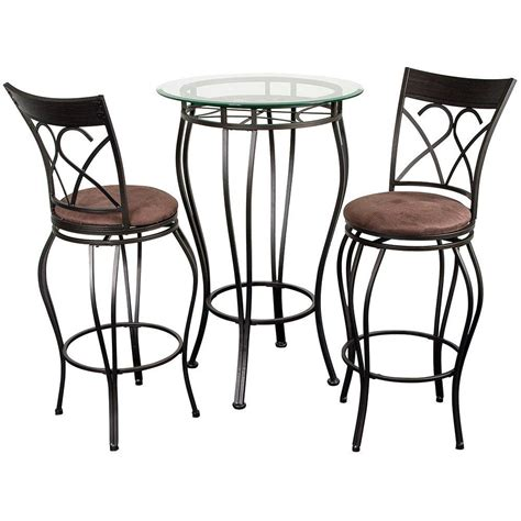 Table And Stools by Pub Tables And Stools Homesfeed
