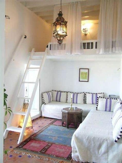 scale per letti a soppalco come arredare con un letto a soppalco 20 idee per