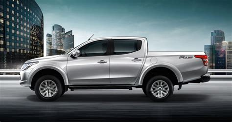 mitsubishi new mitsubishi s all new triton unveiled in thailand is the