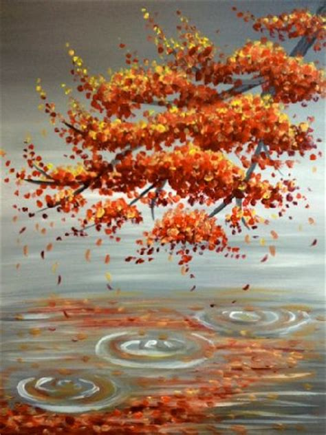paint nite 21 1000 ideas about fall paintings on tree