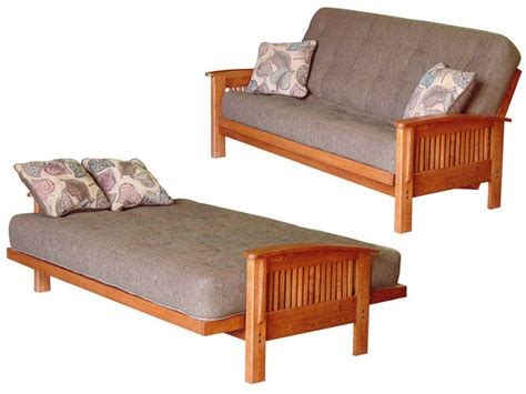 A Futon Bed by Futons Vs Sofa Sleepers The Real Story