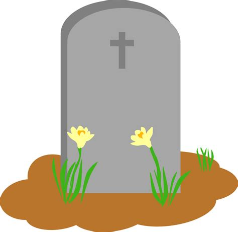 tombstone clipart tombstone and grave vector image free stock photo