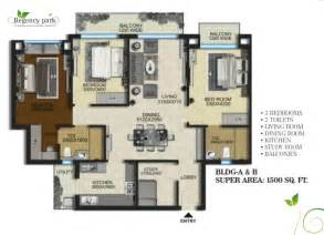 aarcity regency park floor plan 1500 sq ft