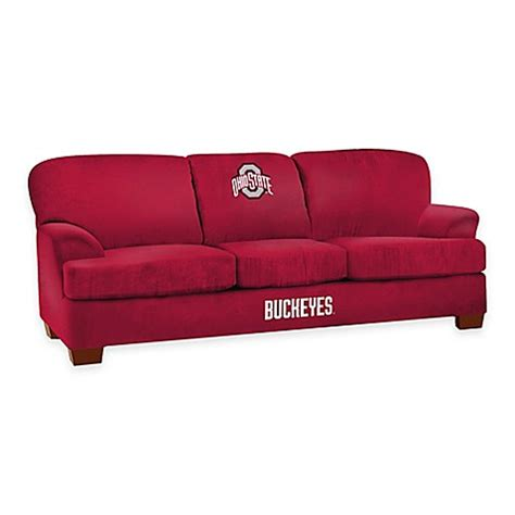 Buy Ohio State University First Team Microfiber Sofa From