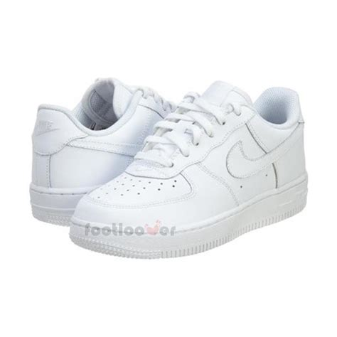 nike air 1 one ps 314193 117 boys leather white