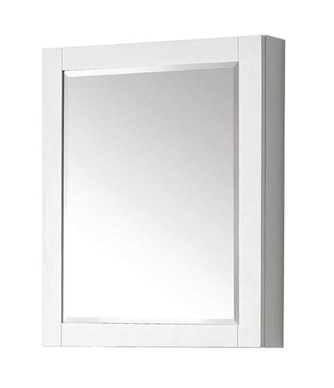 Modern Bathroom Mirror Medicine Cabinets Avanity Modero 24 Inch Modern Bathroom Mirror