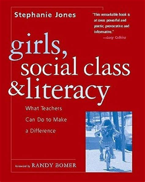 i want to make a difference books social class and literacy what teachers can do to
