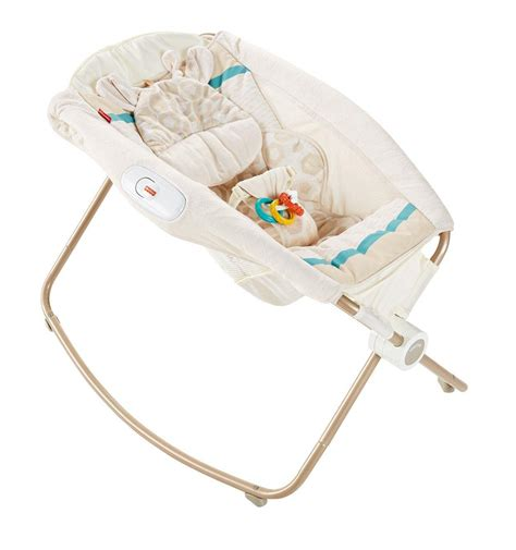 fisher price deluxe newborn rock n play