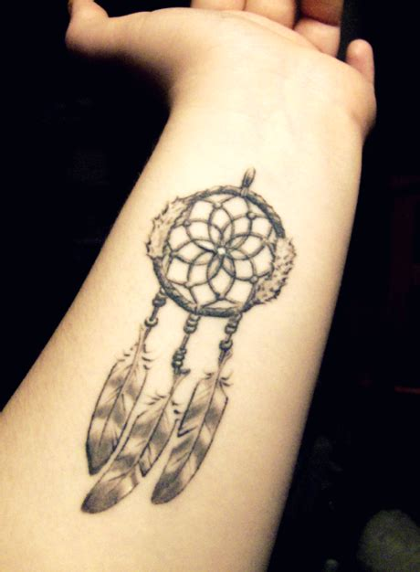 dreamcatcher wrist tattoo simple catcher on wrist interior home design