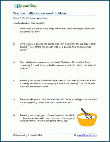 Free Printable Division Word Problems Worksheets For Grade 3