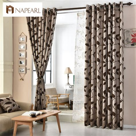 Shade Curtains For Living Room European Jacquard Curtains Kitchen Door Balcony Curtains