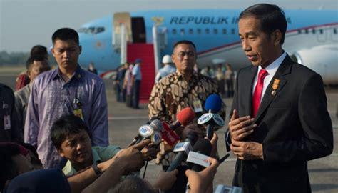 cara naik pesawat di bandara halim apa penyebab jokowi bicara perbatasan ri singapura