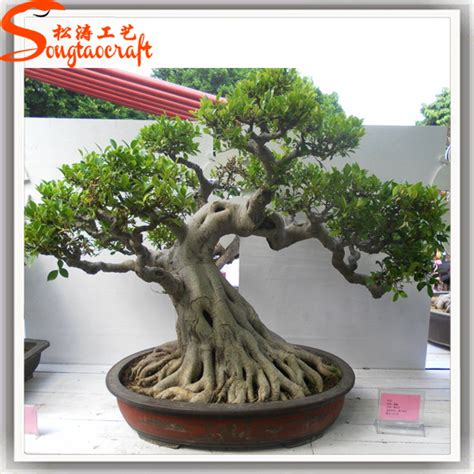 artificial trees sale high imitation decoration artificial bonsai plant plastic