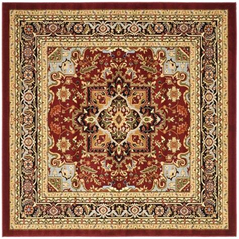 8 ft area rugs safavieh lyndhurst black 8 ft x 8 ft square area rug
