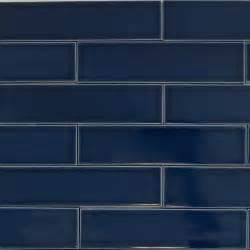 Our 2x8 ceramic subway tile color quot caspian blue quot is a dark navy blue