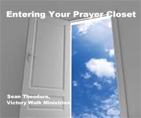 Go Into Your Closet And Pray by Abundant Grace Church Cd Series