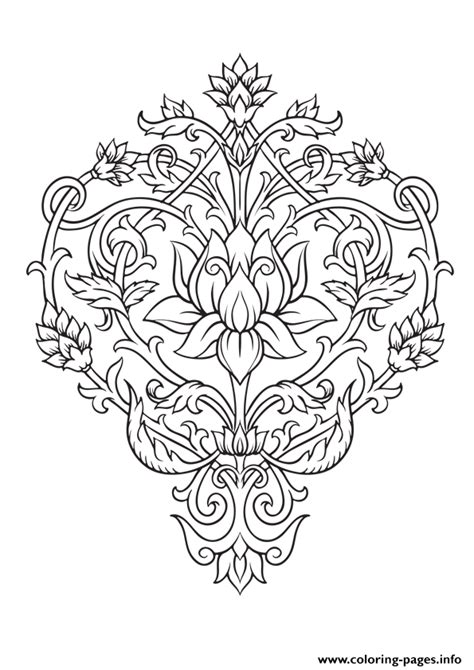 coloring book pages online zen antistress free adult 4 coloring pages printable