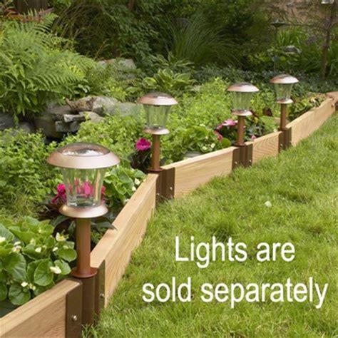 Landscape Edging Alternatives Recycled Garden Edging Kit Lek 16 Free Shipping