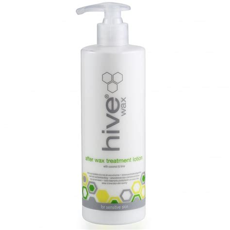 Kit Wash And Wax 400ml hive after wax treatment lotion with coconut lime 400ml