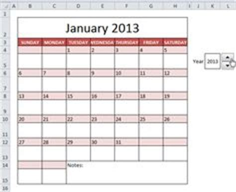 how to make your own calendar in excel 1000 images about excel on microsoft excel
