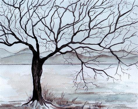 Winter Tree By Brenda Owen