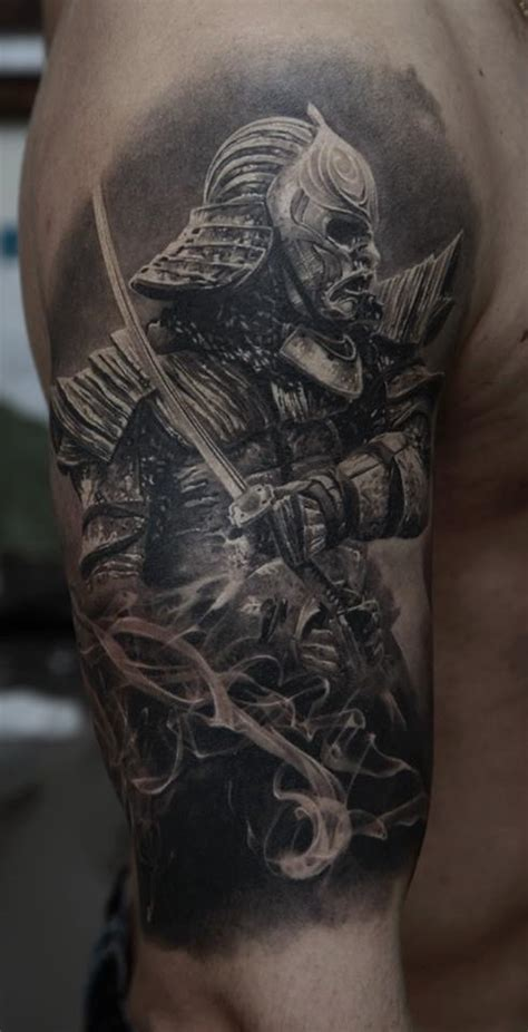 samurai tattoo black and grey samurai tattoos askideas com