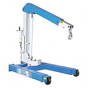 mobile floor crane catalogue otc mobile floor crane steel 6000 lb 48xv28 1813