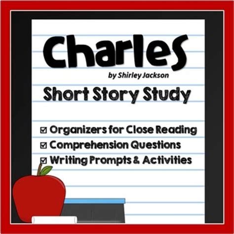 themes for short story charles charles by shirley jackson short story lesson unit of